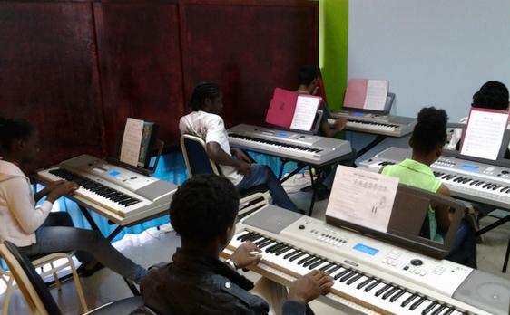 Keyboard Lab at DianJen