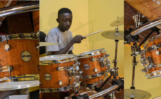 Photo of Drum Student at DianJen
