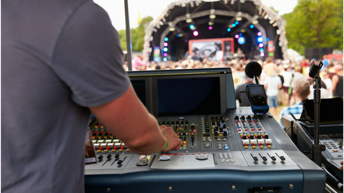 Live Sound Engineering Photo