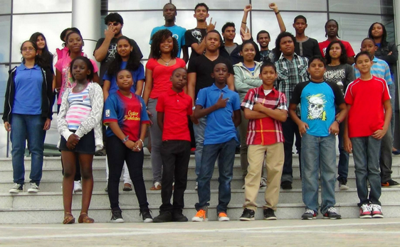 Photo of Camp students on field trip